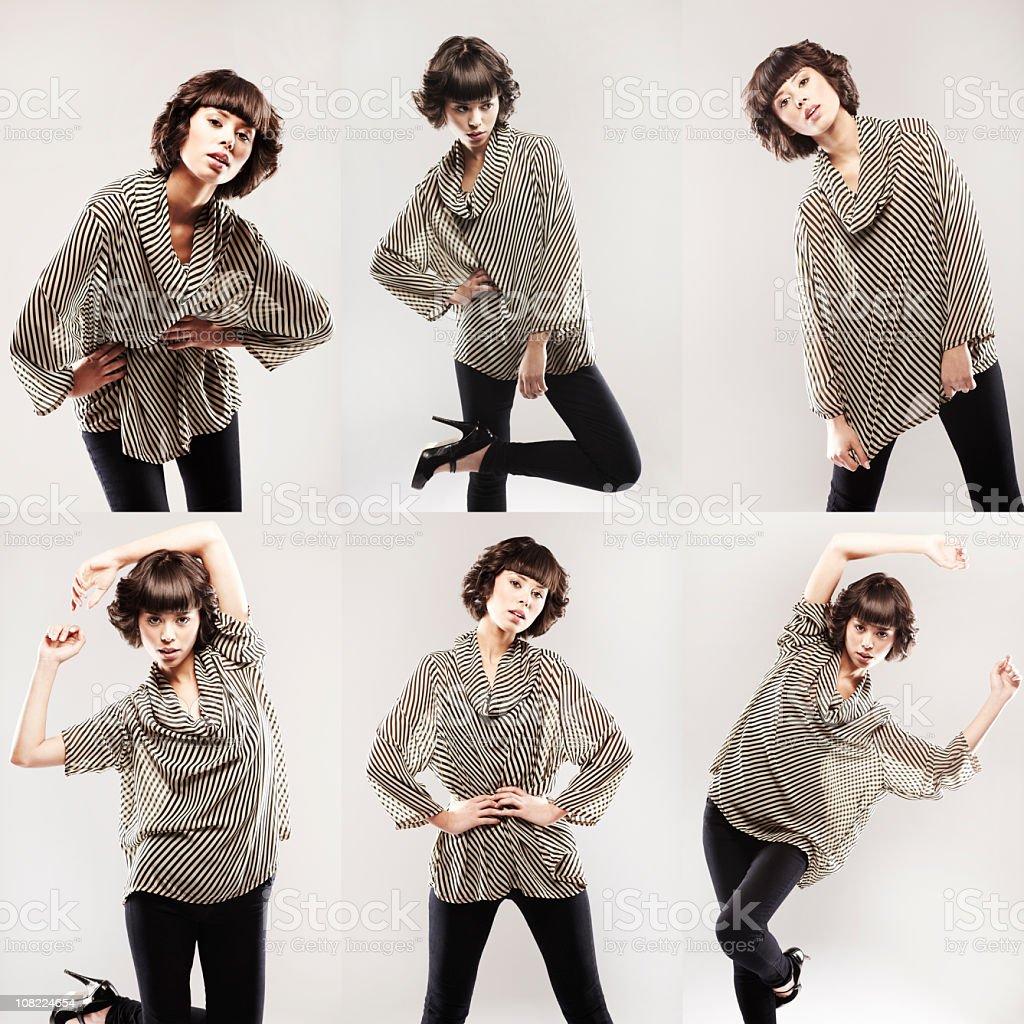 Six Poses stock photo
