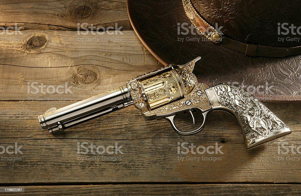 Six Shooter royalty-free stock photo