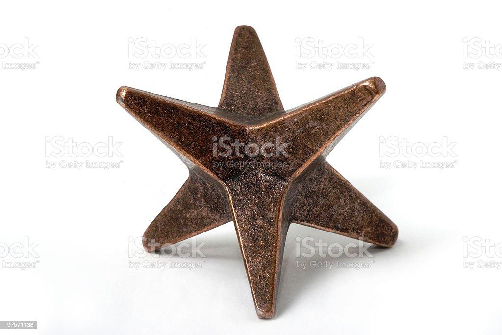 six-ray star royalty-free stock photo
