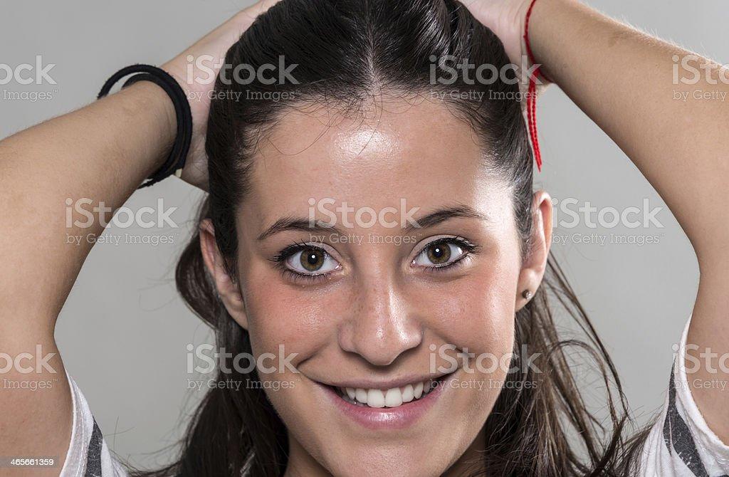 Seize ans fille espagnole - Photo