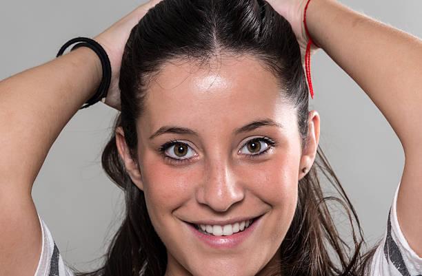 Sedici anni vecchio ragazza spagnola - foto stock