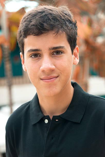 Sedici anni ragazzo adolescente - foto stock