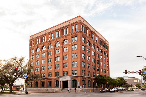 sixth floor museum in dallas, texas - number 6 stock photos and pictures