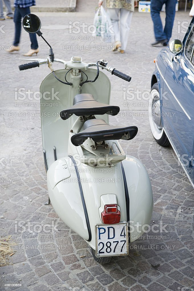 Sixties in Italy stock photo