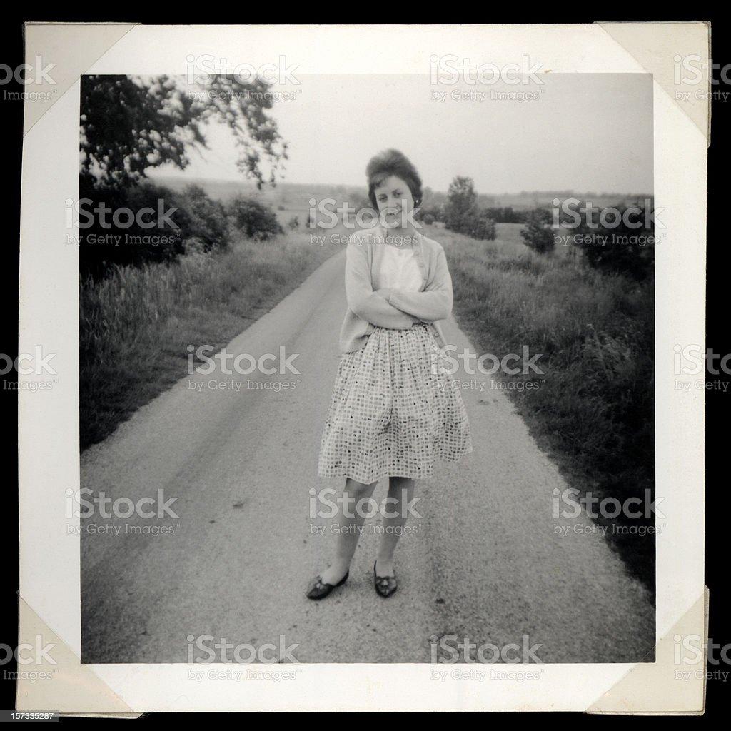 Sixties royalty-free stock photo