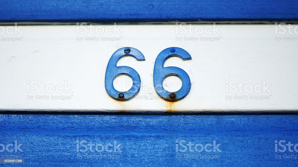 Sixty Six stock photo