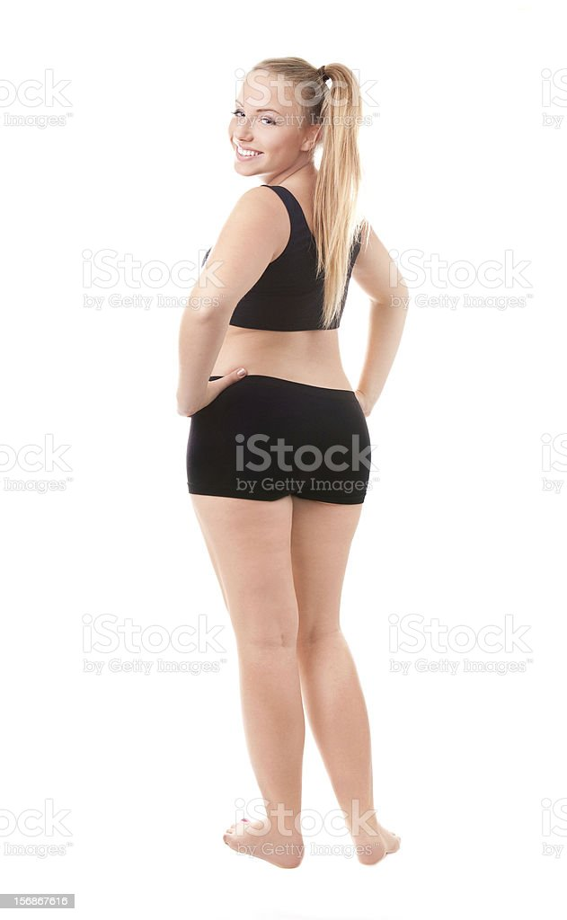 Size 40 woman stock photo