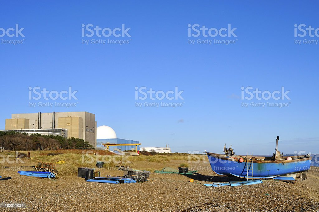 Sizewell beach royalty-free stock photo