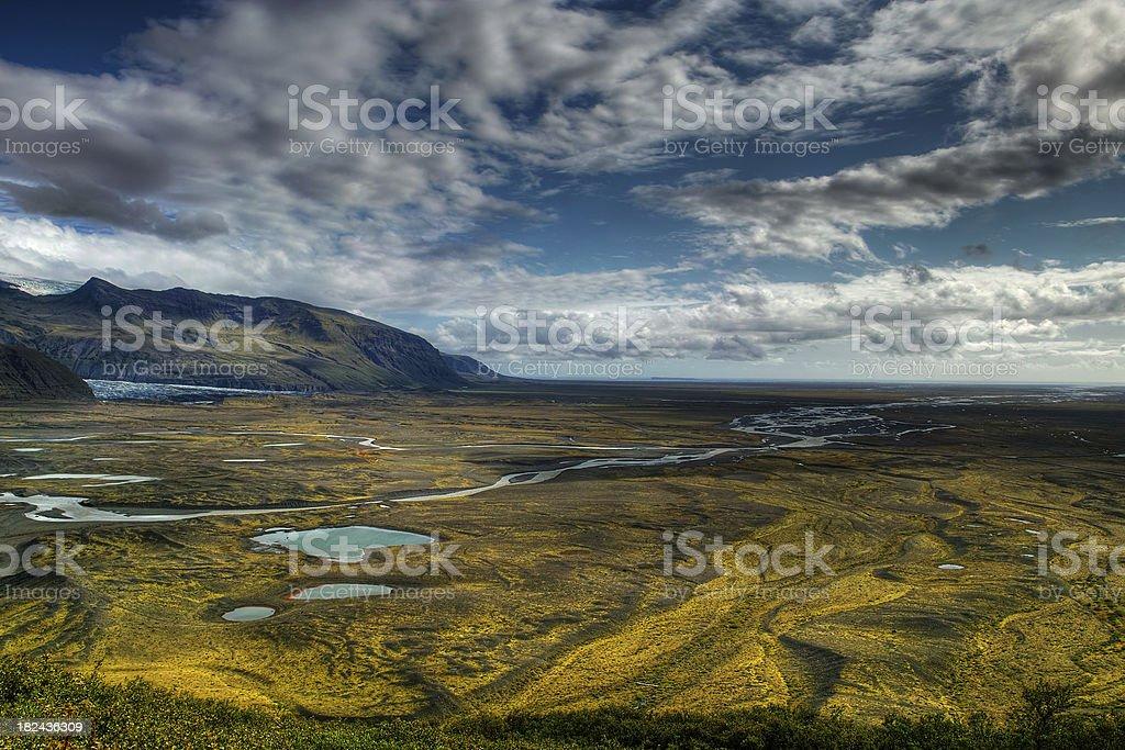 Skaftafell Nationalpark royalty-free stock photo