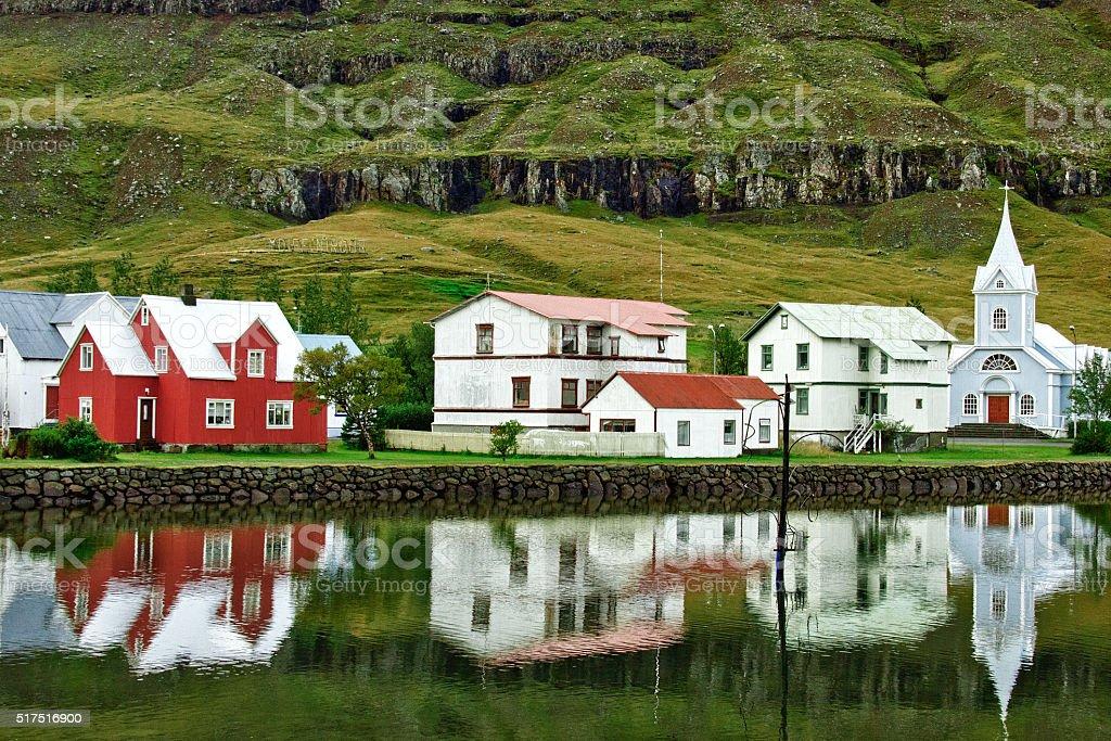 skaftfell Islandia - foto de stock