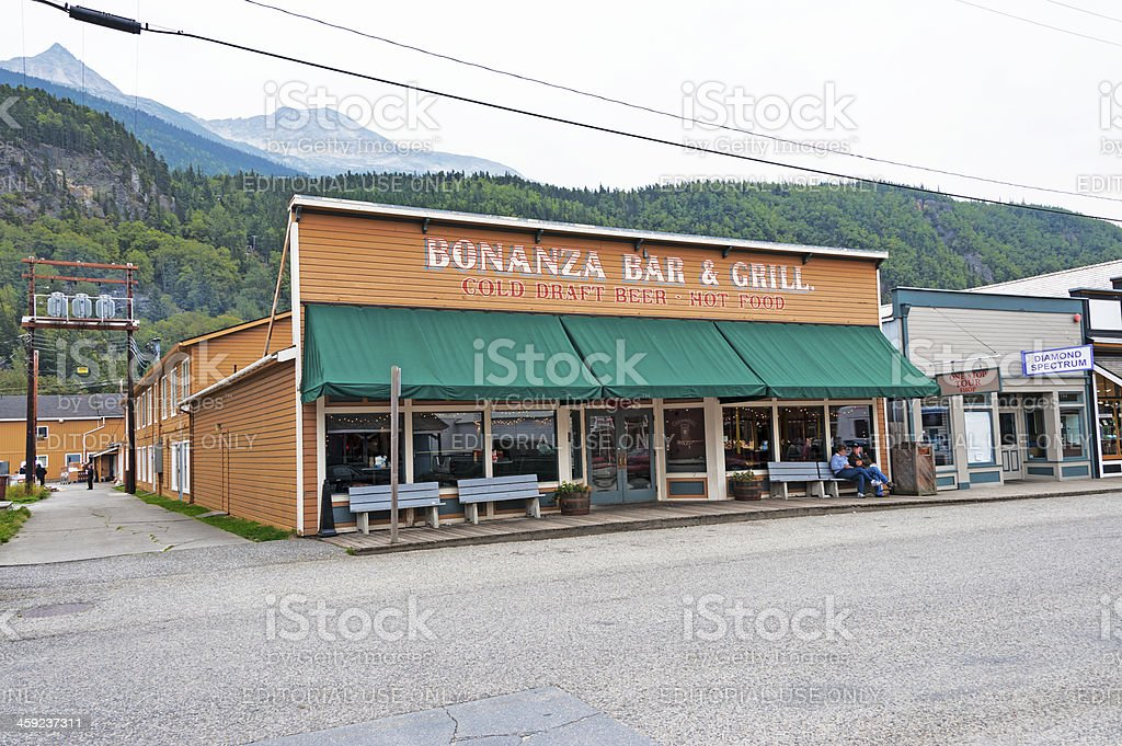 Skagway Bar and Grill royalty-free stock photo