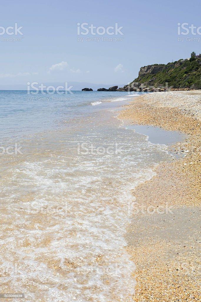 Skala Beach stock photo