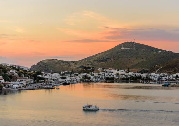 Skala Dorf auf der Insel Patmos – Foto