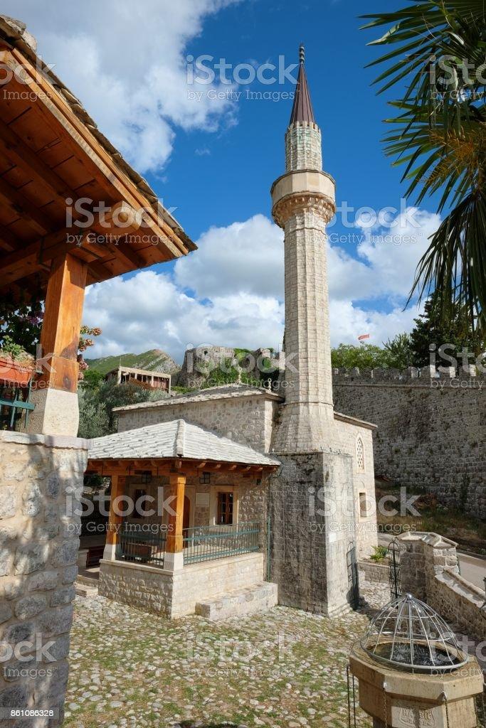 Mezquita de Skanjevica en Stari Bar, Montenegro - foto de stock