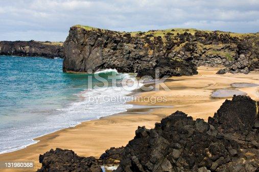 istock Skarðsvìk Beach, Iceland 131960368