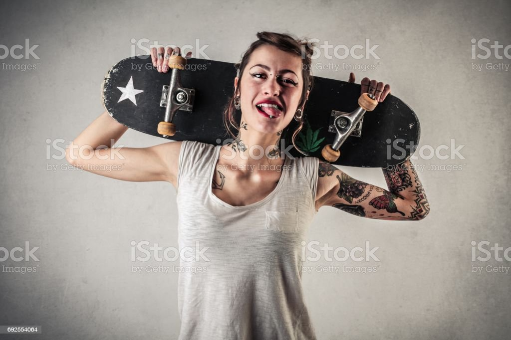 Skate board stock photo