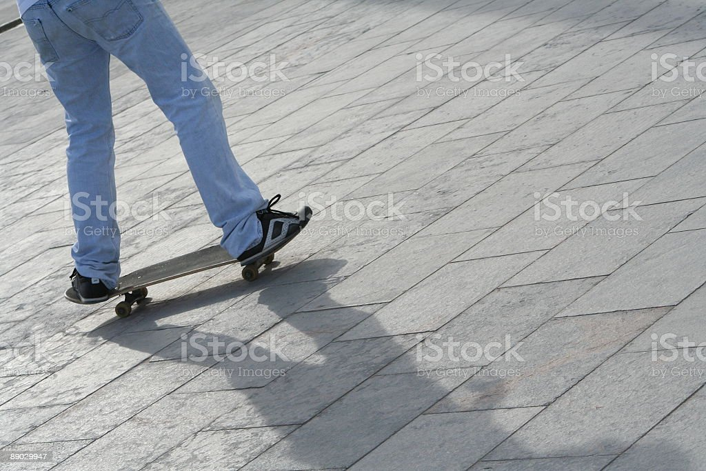 Skate мальчик Стоковые фото Стоковая фотография