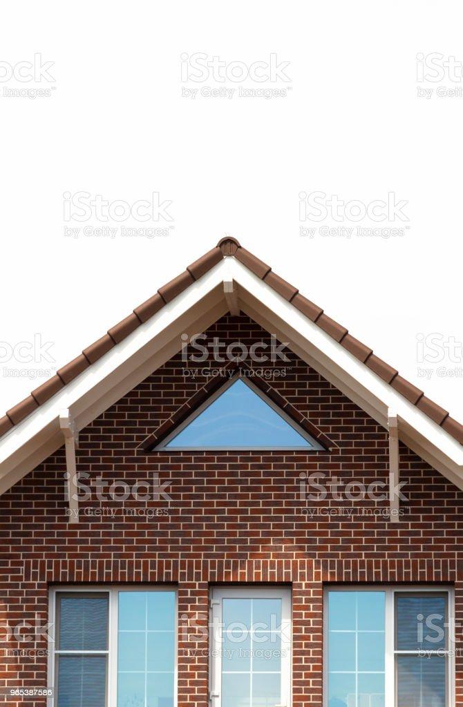Skate brick house royalty-free stock photo