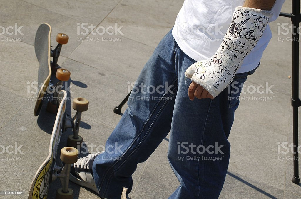 skate or die stock photo
