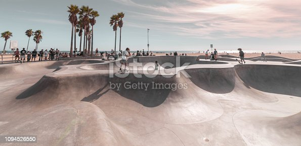 Skate Park in Venice Beach, California