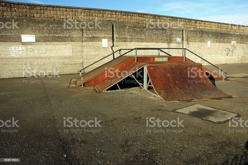 skate ramp royalty-free stock photo