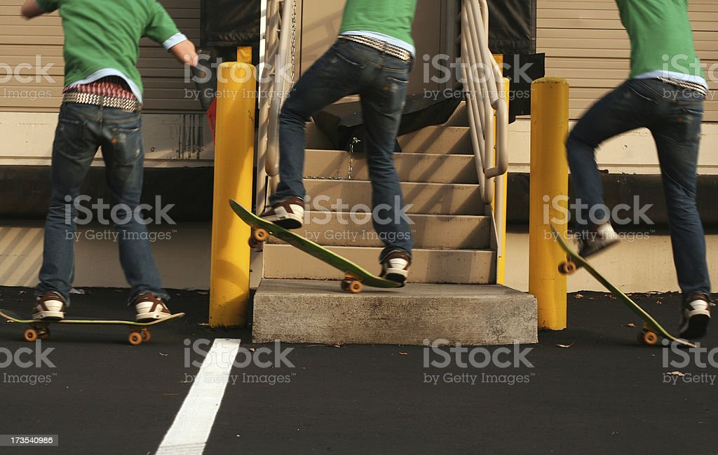 Skate Sequence stock photo