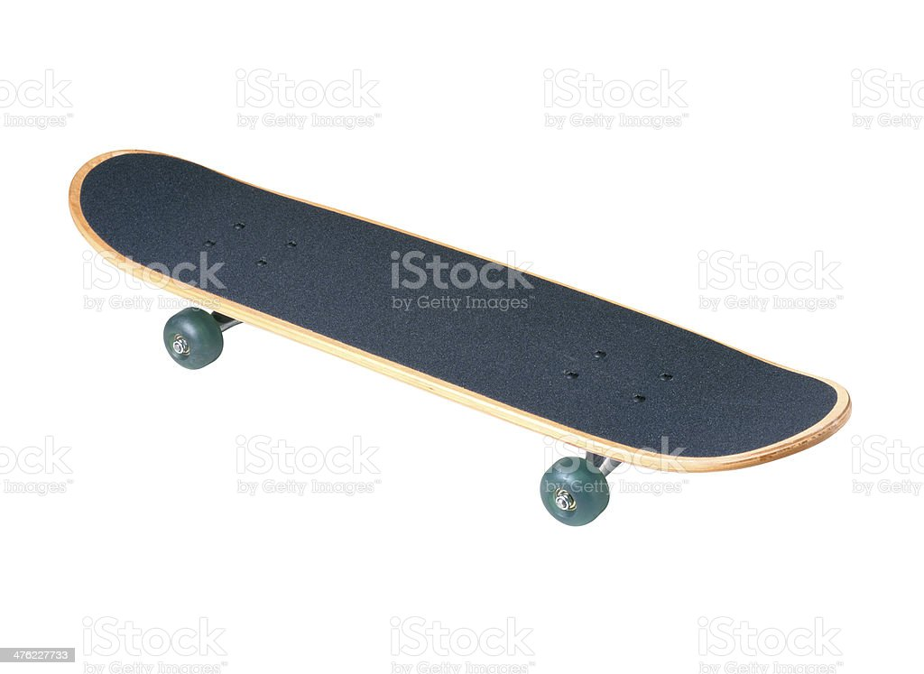 Skateboard deck royalty-free stock photo