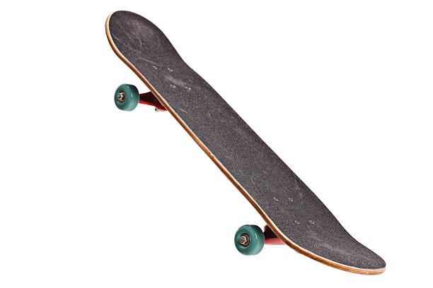 skateboard isolated on white background - skateboard bildbanksfoton och bilder