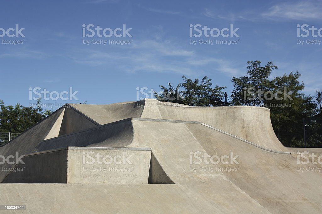 Skateboard Park - NYC stock photo