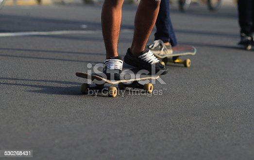 92451800 istock photo Skateboard 530268431