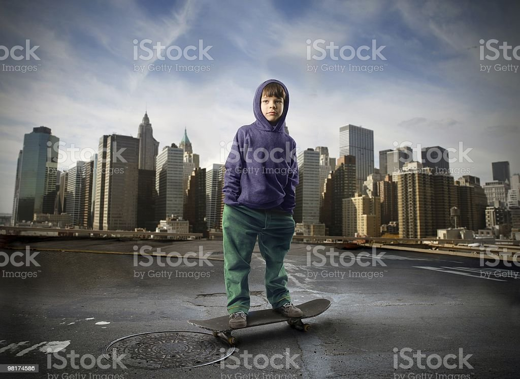 skateboard royalty-free stock photo