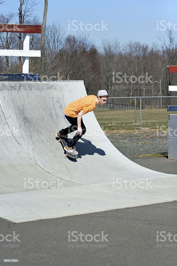 Skateboard Ramp royalty-free stock photo