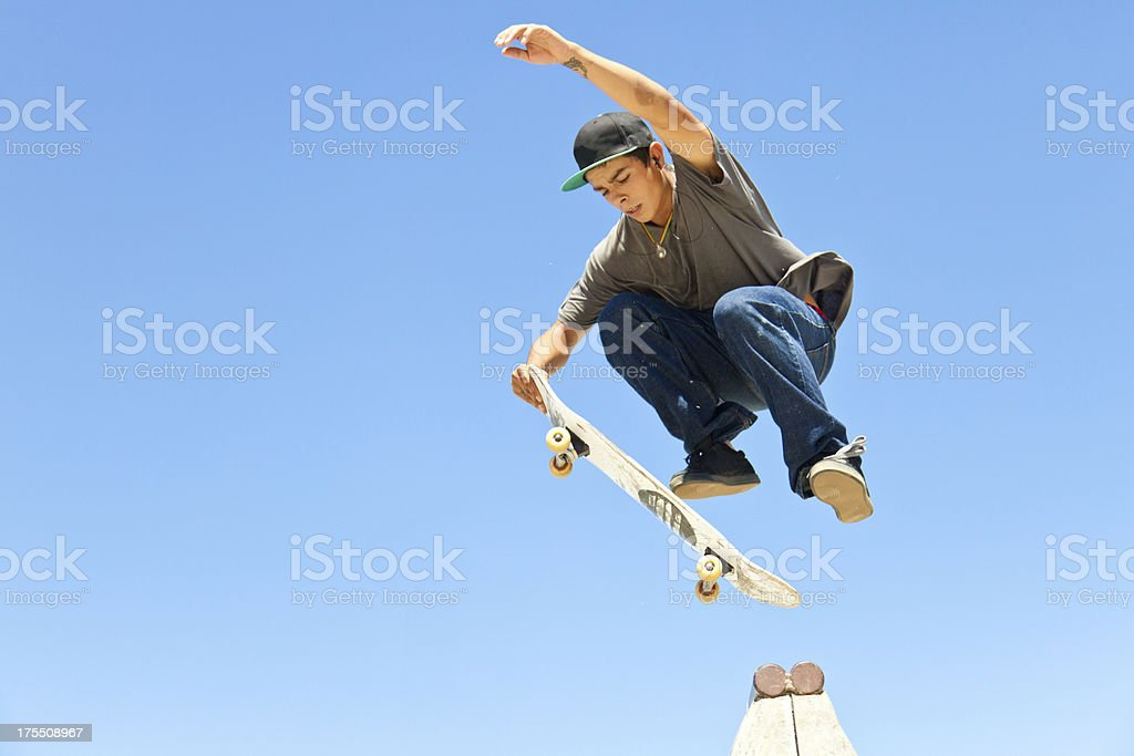 Skateboarder royalty-free stock photo