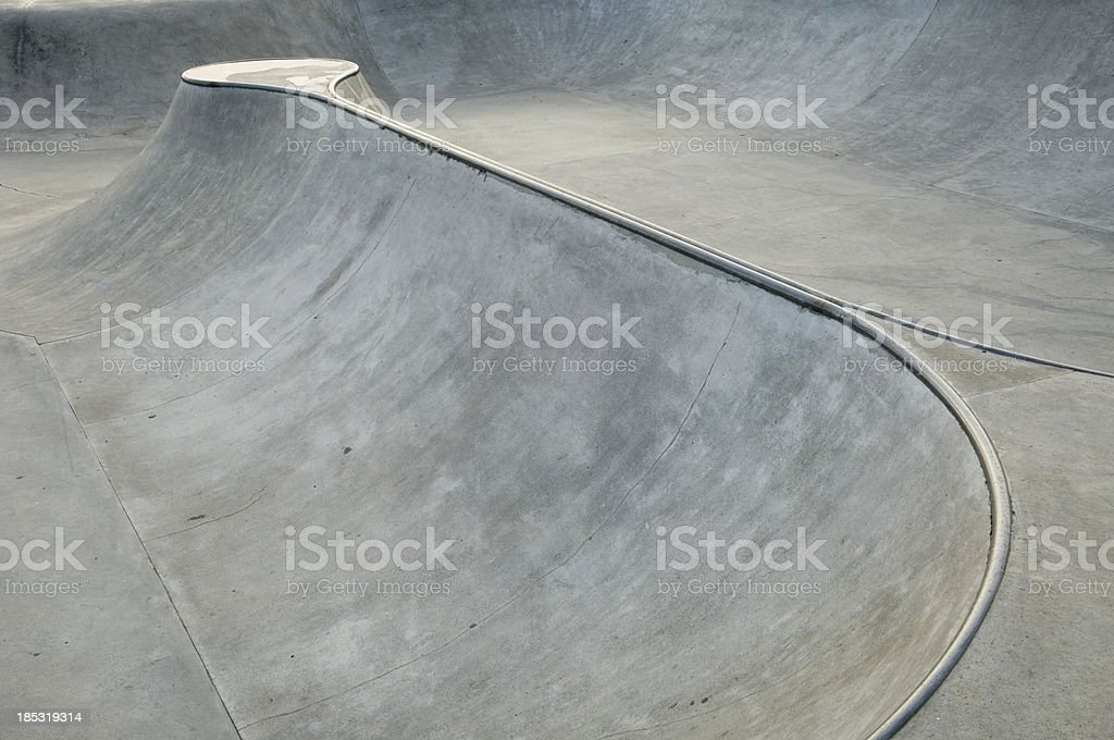 Skateboarding park royalty-free stock photo