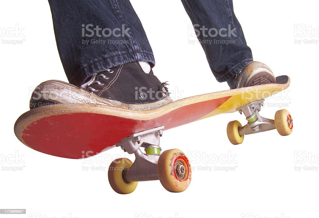 skateboarding royalty-free stock photo