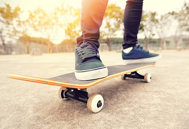 skateboarding - skateboard stock pictures, royalty-free photos & images