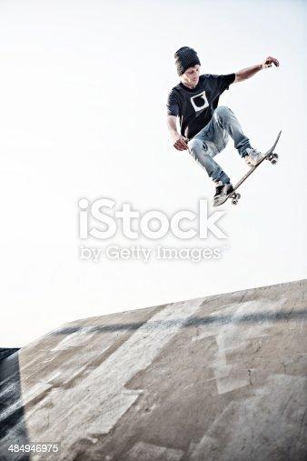 istock Skateboarding 484946975