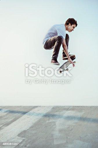 istock Skateboarding 485081037
