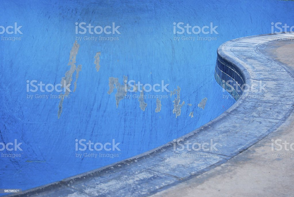 Parco di skateboard piscina foto stock royalty-free