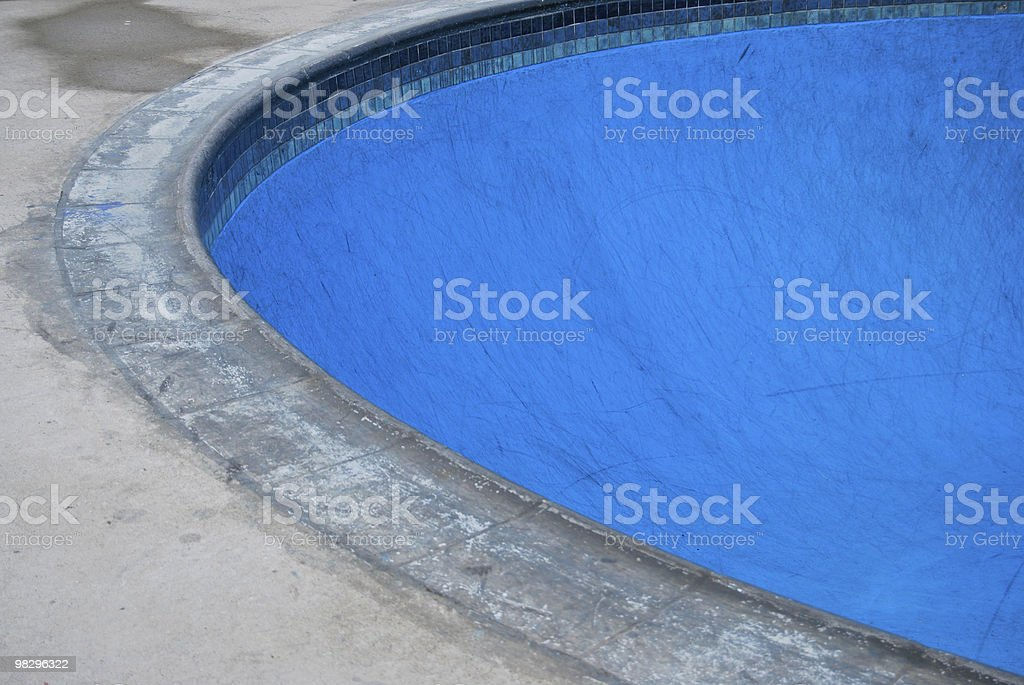 SkateBoarding Pool Park royalty-free stock photo