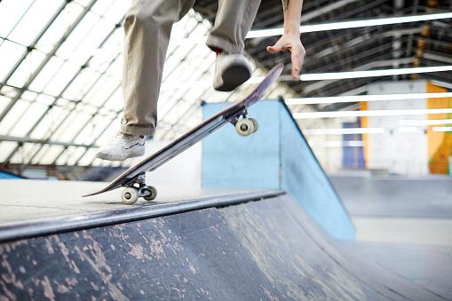 Skateboarding workout