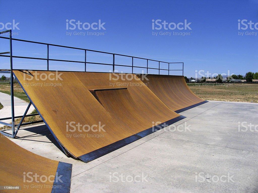 Skatepark royalty-free stock photo