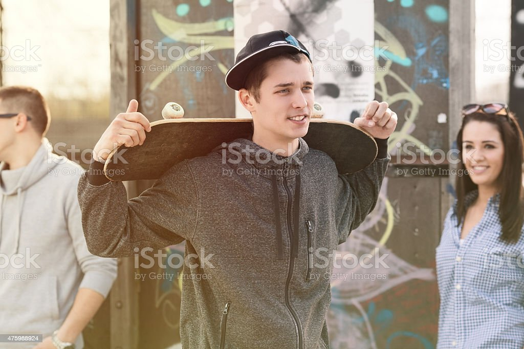 Skater Boy stock photo