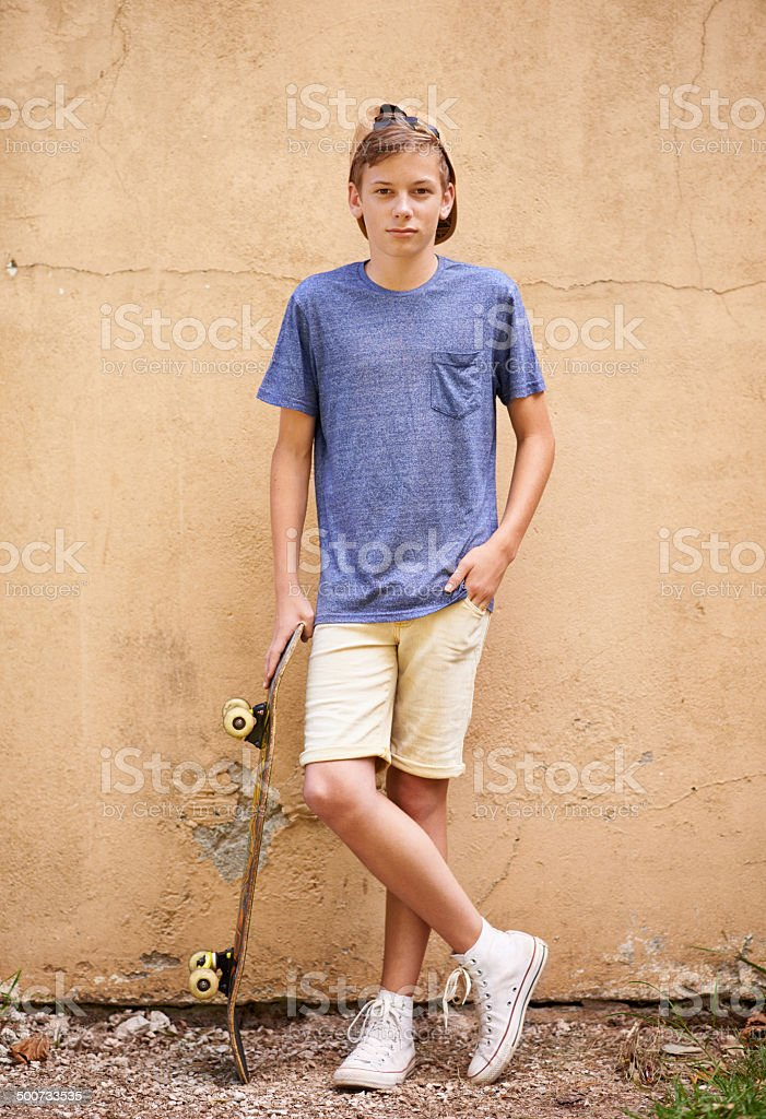 Skater dude stock photo