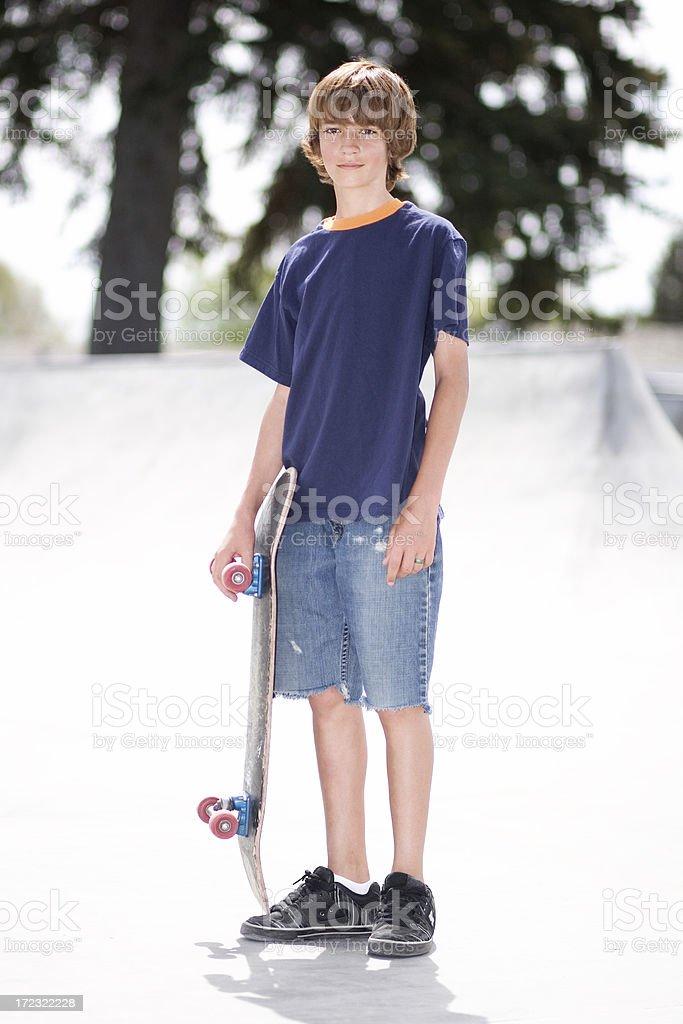 Skater Kid royalty-free stock photo