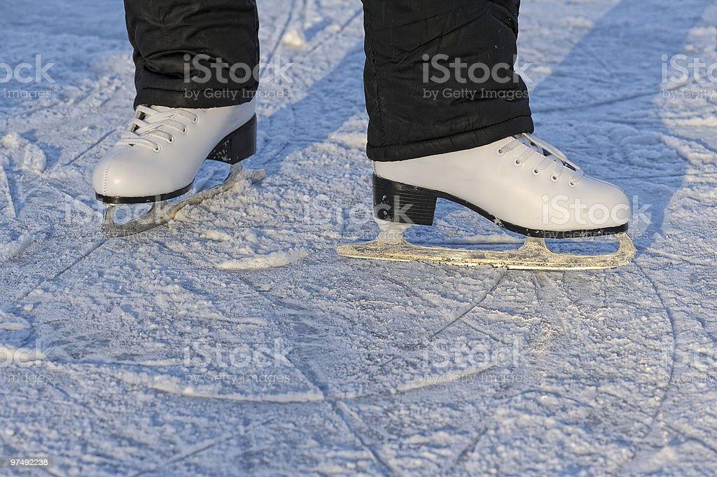 skater's legs royalty-free stock photo