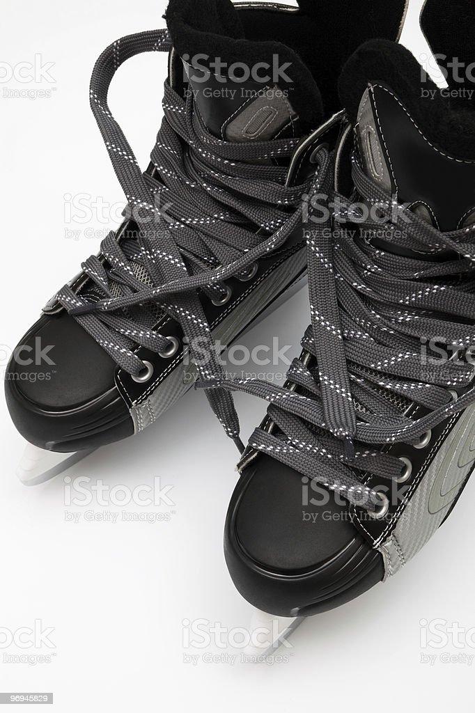 skates for hockey royalty-free stock photo