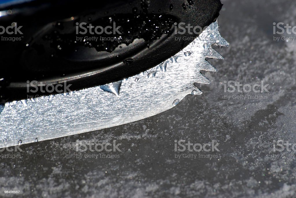skating blade royalty-free stock photo