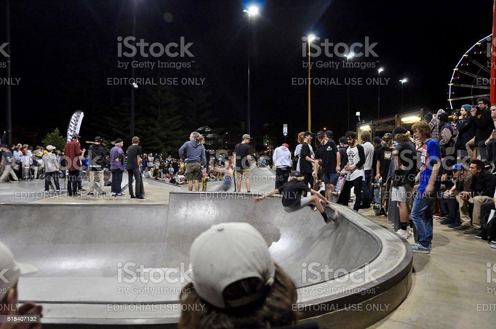 Skating Showcase stock photo
