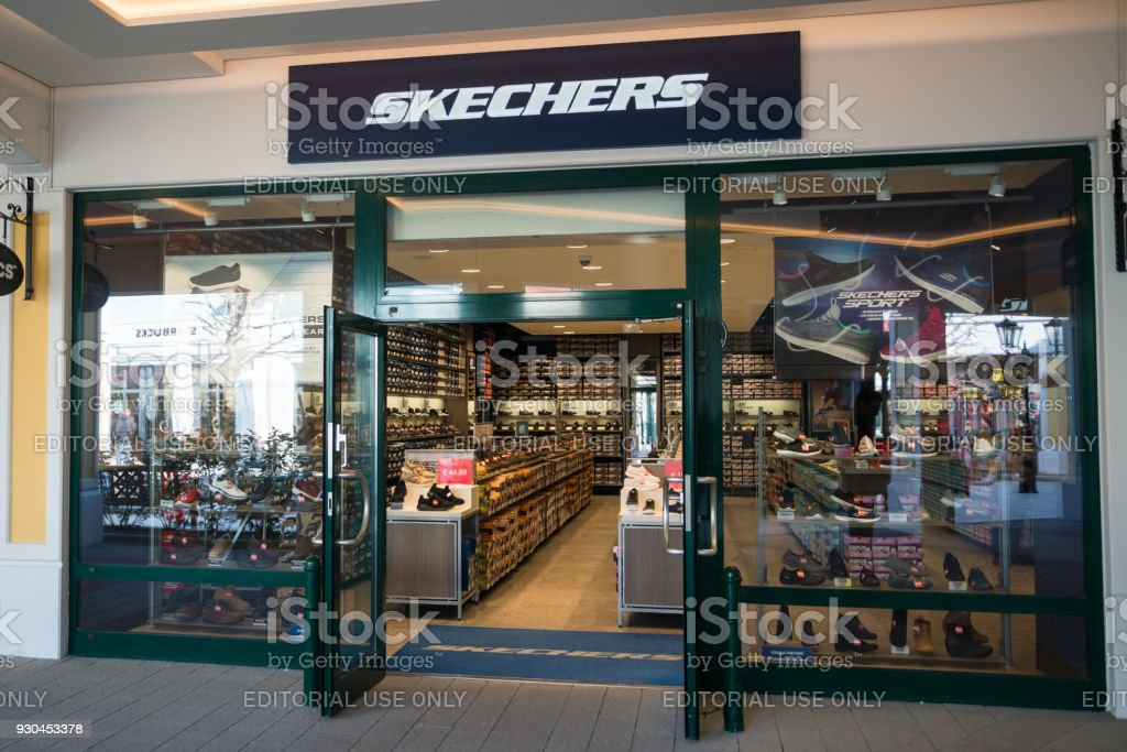 04ade1307263 Skechers Store Stock Photo   More Pictures of Architecture